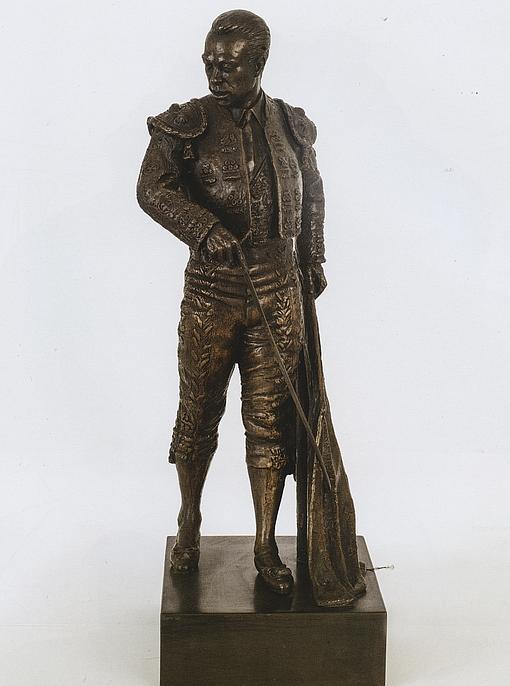 Boceto del monumento a Curro Romero. Autor: Sebastián Santos