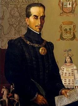 El Inca Garcilaso, por F.González Gamarra
