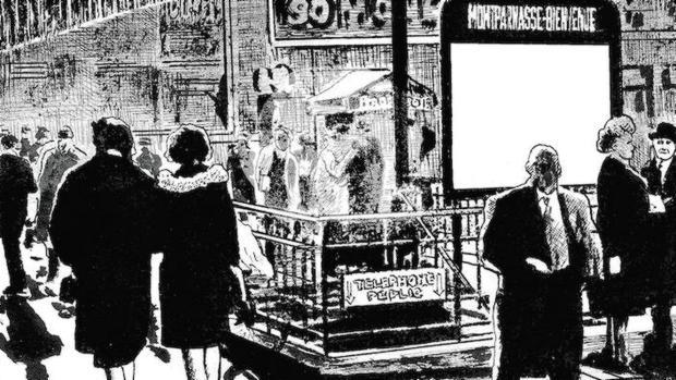 Una de las ilustraciones del «Manifiesto incierto» de Frédéric Pajak