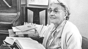 María Moliner, la primera bibliotecaria