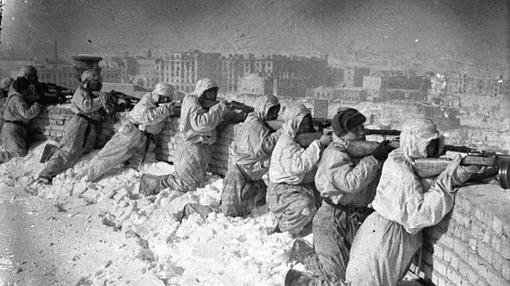 Combates en Stalingrado