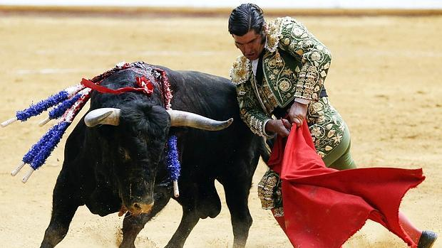 Morante de la Puebla, el pasado agosto en la vuelta de los toros a Illumbe