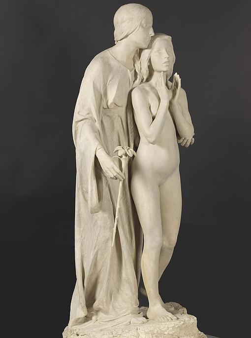 «Al ideal», 1896, de Miguel Blay