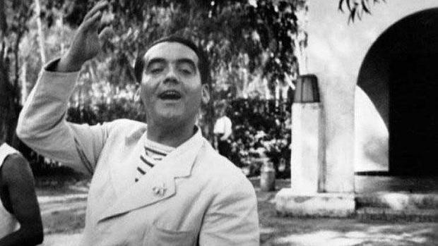 Federico García Lorca, en una imagen de 1925