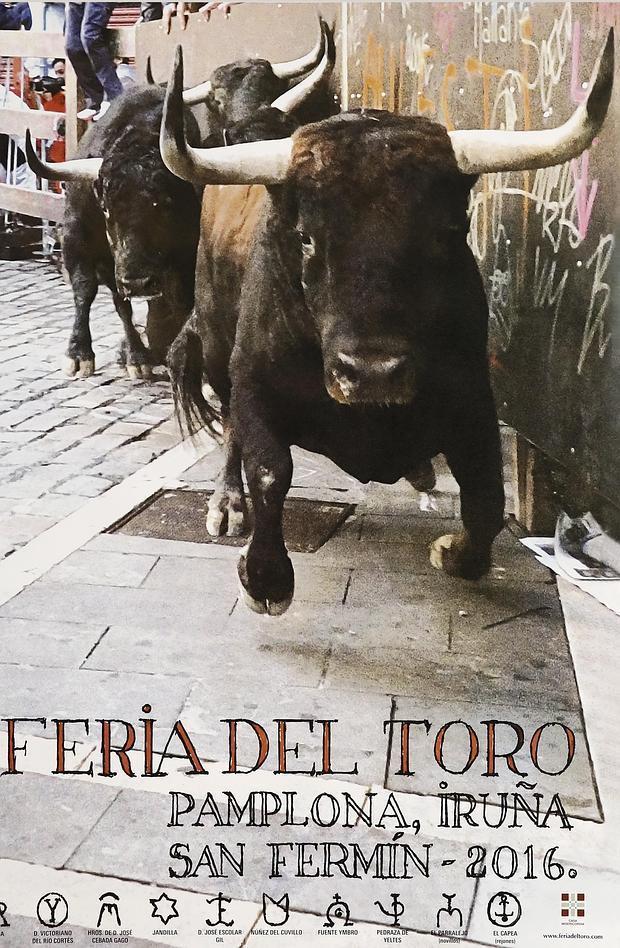 Cartel de la Feria del Toro,