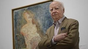 Jorge Edwards, en el Museo Reina Sofía, donde tuvo lugar la entrevista