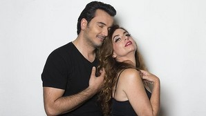 Lola Baldrich y Fran Calvo, protagonistas de la obra