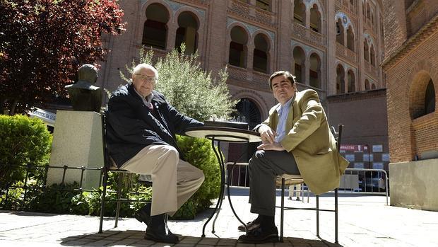 José Antonio Martínez Uranga y Manuel Martínez Erice, en Las Ventas