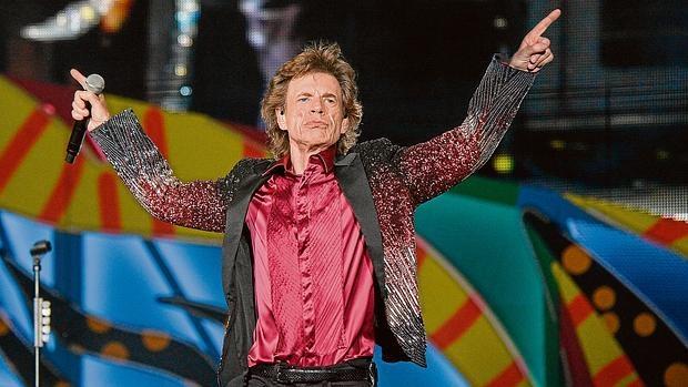 Mick Jagger, durante el histórico concierto que los Rolling Stones ofrecieron en La Habana