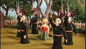 Uno de los vídeos publicados por Radiohead