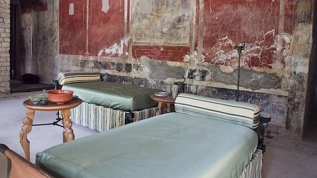 Interior de la Villa Imperial de Pompeya