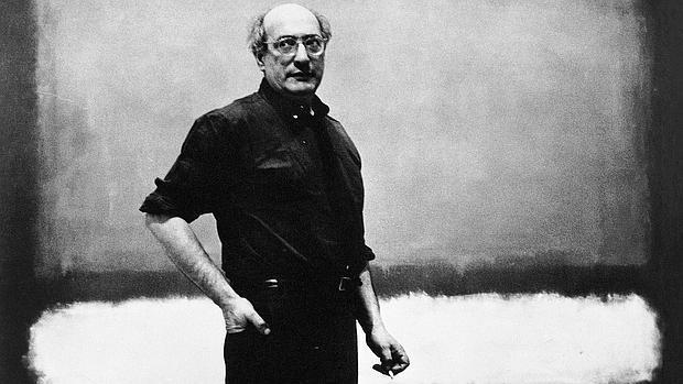 Rothko, ante una de sus obras