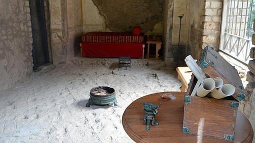 Detalles de la muestra del Antiquarium
