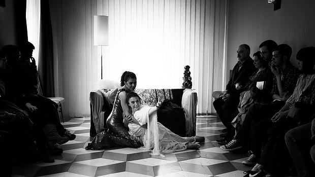 Noemí Rodríguez y Lola Baldrich, en la escena final de «Addio del passato»