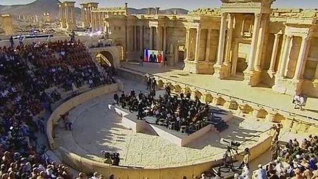 Así fue el concierto de la orquesta del teatro Mariinsky de San Petersburgo en Palmira