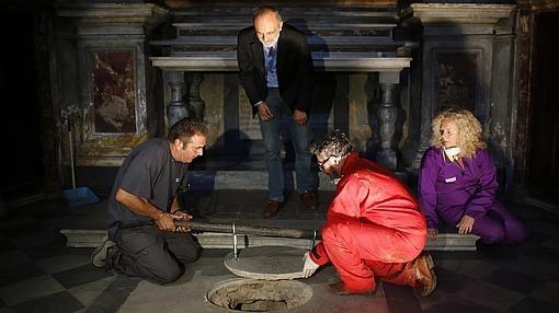En 2013 se buscaron en la tumba de la familia florentina Giocondo pistas sobre la identidad de la Gioconda