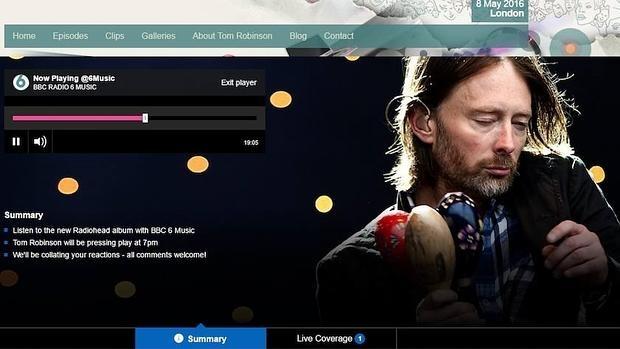 Escucha el nuevo álbum de Radiohead