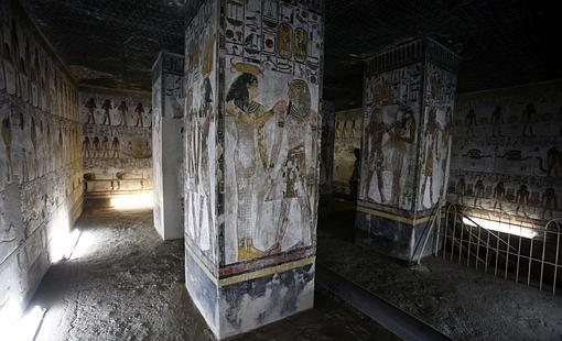 La tumba de Seti I