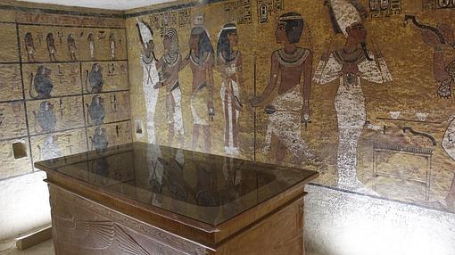 Facsímil de la tumba de Tutankamón