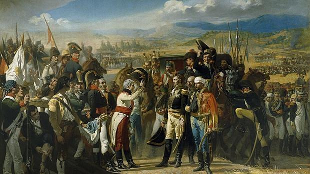 La rendición de Bailén, por Casado del Alisal