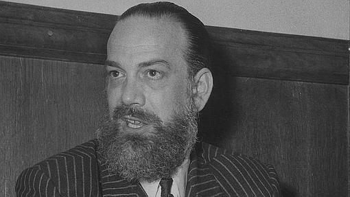 Cela, con barba, en 1957