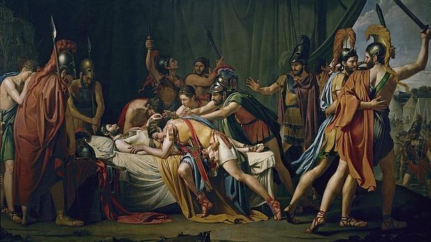 Muerte de Viriato (1807), de José Madrazo.