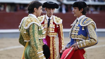 Roca confirmó de manos de Castella y en presencia de Talavante