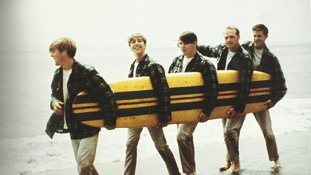 The Beach Boys en uno de sus mayores momentos de éxito
