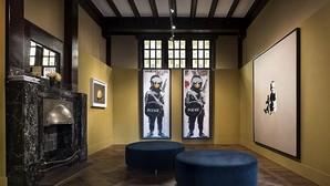 Obras de Banksy, en el MOCO