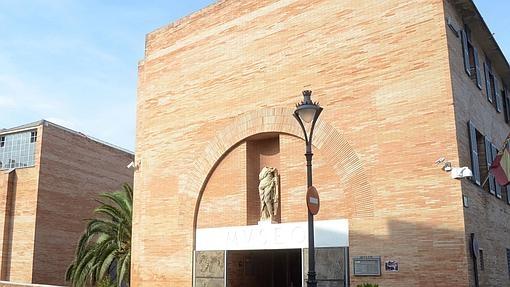 Fachada del Museo Nacional de Arte Romano