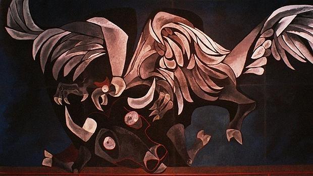«Toro y Cóndor», de Oswaldo Guayasamín