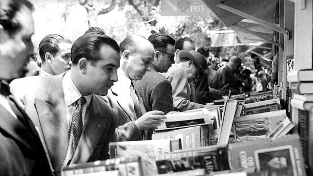 La Feria del Libro en 1953
