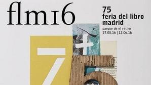 Cartel de la 75 edición de la feria del libro de Madrid