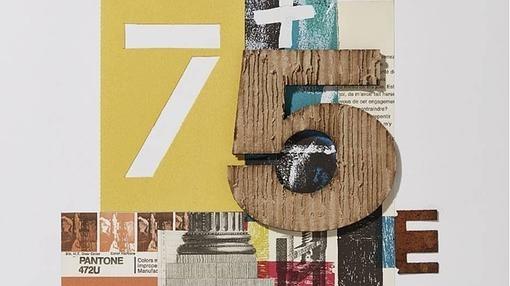 Fragmento del cartel de la 75 edición de la Feria del Libro