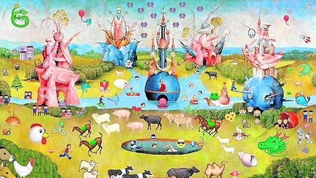 «El jardín de las emoji-delicias», proyecto de Edurne Herrán para ARTIUM