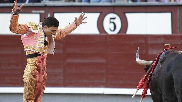 Paco Ureña, el pasado domingo en Las Ventas