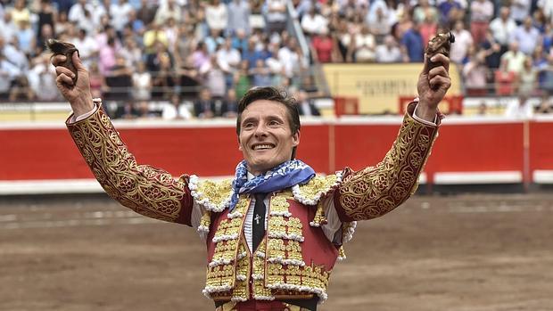 Diego Urdiales, triunfador del pasado año en Bilbao
