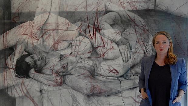 La artista inglesa Jenny Saville