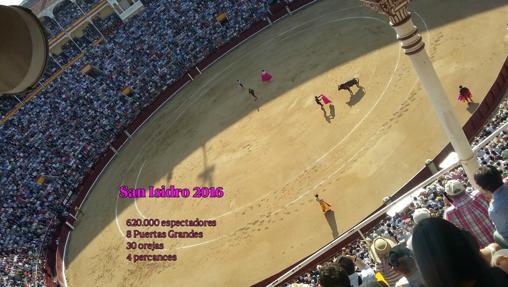 Más de 600.000 espectadores acudieron a Las Ventas en San Isidro 2016