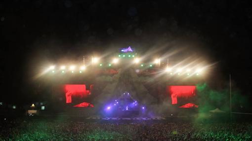 Así lució Utopía durante la actuación de David Guetta
