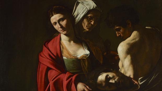 «Salomé con la cabeza del Bautista», de Caravaggio