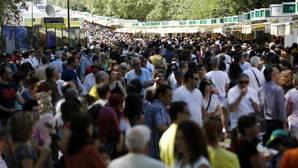 Las ventas en la Feria del Libro de Madrid crecen este año un 3,5 por ciento