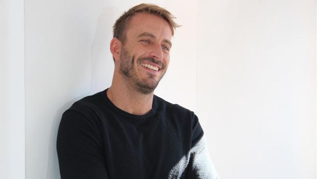 El escritor Javier Montes