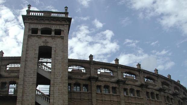 Facha del «Coliseo balear», la plaza de toros de Palma de Mallorca