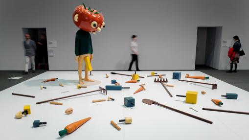 «Tomato Head (Green)», de Paul McCarthy en «Unlimited»