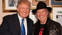 Donal Trump y Neil Young
