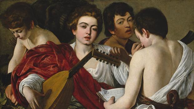 «Los músicos», de Caravaggio