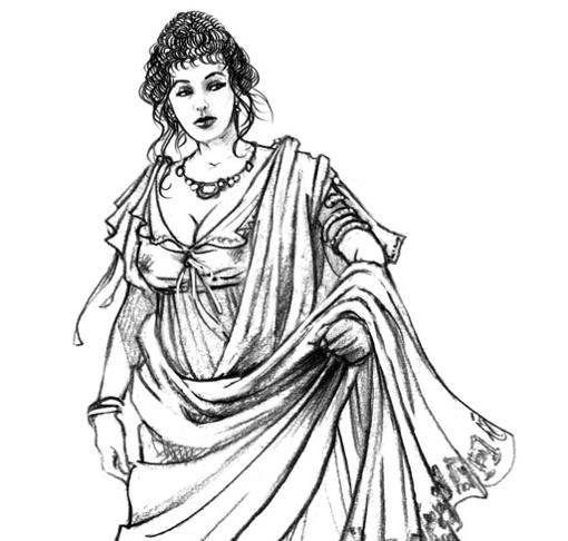 Las prostitutas debían llevar toga