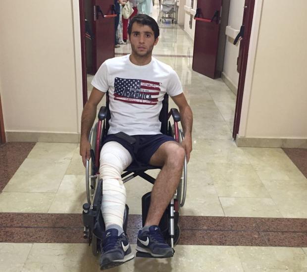 Rafael Serna abandona el hospital San Francisco de Asís