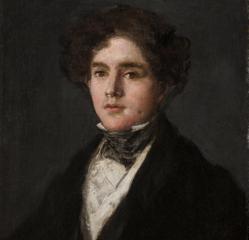 «Retrato de Mariano Goya», de Goya, una de las obras del museo texano